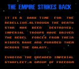 Star Wars: The Empire Strikes Back NES Story