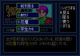 Phantasy Star II Text Adventure: Huey no Bōken Genesis Looking around an area