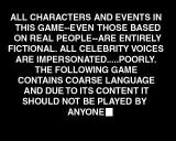 South Park Rally PlayStation The revamped south park disclaimer.