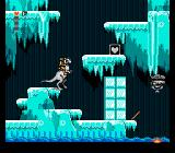 Star Wars: The Empire Strikes Back NES Jumping, shooting flying bots and gathering hearts