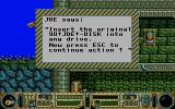 Yo! Joe! Beat the Ghosts DOS Copy protection