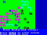 The Bulge: Battle for Antwerp ZX Spectrum Battle Map color options - green