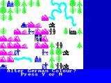 The Bulge: Battle for Antwerp ZX Spectrum Even change colors of the German or Allied forces