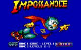 Impossamole Amstrad CPC Title screen