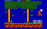 Impossamole Amstrad CPC The Orient level