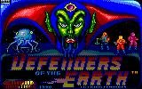 Defenders of the Earth Amstrad CPC Title screen