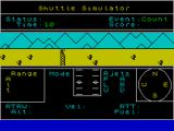 Shuttle Simulator ZX Spectrum Countdown to launch