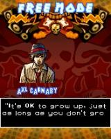 Guitar Rock Tour J2ME Character selection: Axl Carnaby