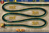 Luxor iPhone Once you finish the level, a scarab flies across the path, giving you a bonus