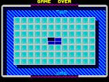 TRAZ ZX Spectrum Here the player must move the paddles left / right and prevent the ball from hitting the central part of the top / bottom border