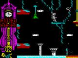 Gonzzalezz ZX Spectrum Half a dozen jumps further on and its the end of Phase 1 and the start of Phase 2 - as denoted by the change of colour
