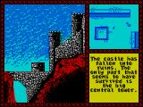 Iron Lord ZX Spectrum So the only good bit of this castle is the tower, all the player must do is try to find the door