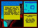 Iron Lord ZX Spectrum As he leaves the player is attacked by an assassin