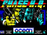 Chase H.Q. ZX Spectrum The game load screen