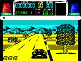Chase H.Q. ZX Spectrum The start of the chase. The car starts in low gear, there are only two