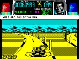 Chase H.Q. ZX Spectrum Go the wrong way and your partner wakes up.
