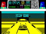 Chase H.Q. ZX Spectrum When the 3rd life has expired, or if the player presses 'Q' by mistake, the game is over ...