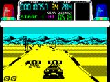 Chase H.Q. ZX Spectrum If the player follows the road the bad guys took they'll find it full of obstacles