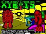 Xybots ZX Spectrum Load screen. After this the screen goes black for a while