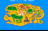 Builderland: The Story of Melba TurboGrafx CD Navigation on the map