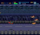 Down Load  TurboGrafx-16 First level: it was dark when the highway chase began...