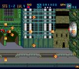 Down Load  TurboGrafx-16 Characteristic side-scrolling shooter boss: a stationary defense mechanism