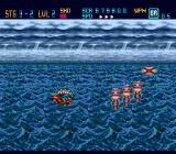 Down Load  TurboGrafx-16 ...but it ended with me getting killed by pesky jumping guys while happily flying over the sea...