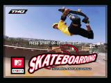 MTV Sports: Skateboarding Windows Start screen
