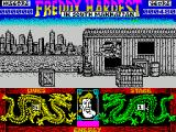 Freddy Hardest in South Manhattan ZX Spectrum Freddy can jump and kick as well as punch