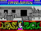Freddy Hardest in South Manhattan ZX Spectrum The bad guys come thick and fast
