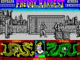 Freddy Hardest in South Manhattan ZX Spectrum The guys with black vests on are harder to knock down