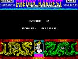 Freddy Hardest in South Manhattan ZX Spectrum End of stage 1 - start of stage 2