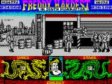 Freddy Hardest in South Manhattan ZX Spectrum Same game. Different guys to fight.