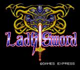 Lady Sword: Ryakudatsusareta 10-nin no Otome  TurboGrafx-16 Title screen