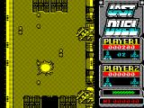 Last Duel: Inter Planet War 2012 ZX Spectrum Later there's gun turrets on the walls of the track,