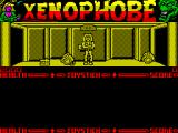 Xenophobe ZX Spectrum Our character has landed. Those things on the ground are bad aliens in dormant state