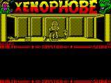 Xenophobe ZX Spectrum They've woken up. One is crawling off to the left. The other one has found the exterminator