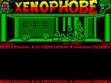 Xenophobe ZX Spectrum This does not look like a healthy area