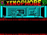 Xenophobe ZX Spectrum There are some really big nasty things around.