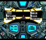 Out Live TurboGrafx-16 Enemy encounter. Battle menu