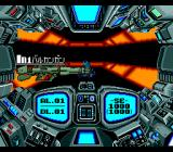 Out Live TurboGrafx-16 Nice orange corridor! Looking at my weapons