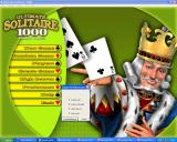 Ultimate Solitaire 1000 Windows The game preferences allow some customisation of the game.