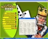 Ultimate Solitaire 1000 Windows The Create Game option allows new variations to be created by mixing standard game types and rules