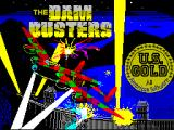 The Dam Busters ZX Spectrum Loading screen
