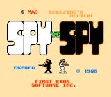 Spy vs Spy NES Title screen