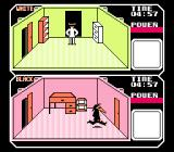 Spy vs Spy NES Starting the game