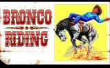 Buffalo Bill's Wild West Show DOS Bronco Riding
