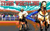 Buffalo Bill's Wild West Show DOS Steer Wrestling