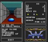 Double Dungeons TurboGrafx-16 Oh wow, a BLUE slime! It's very different from the green one on the other screenshot. You see, that slime is green, while this one is blue