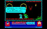 Slightly Magic Amstrad CPC We gave the dragon some water and now he's ill.